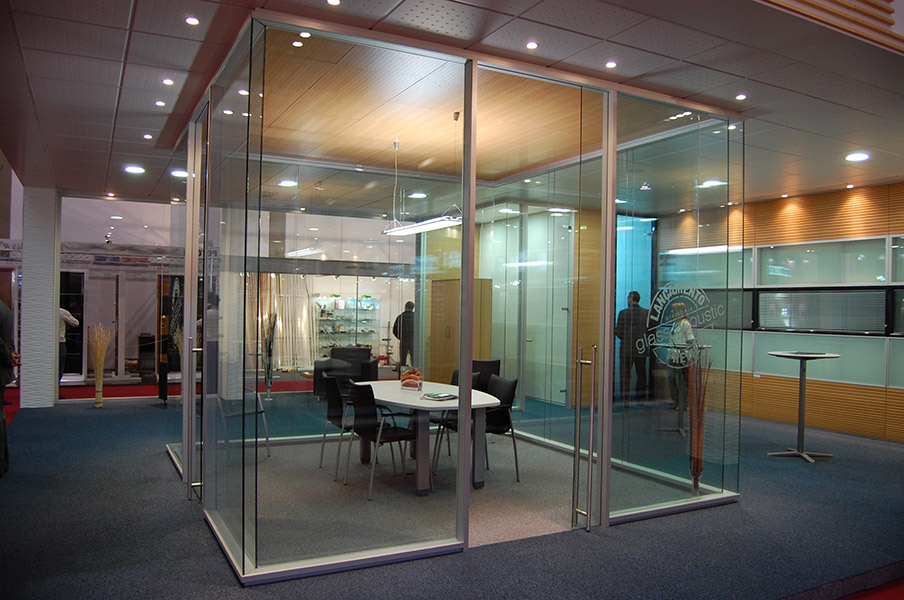 Перегородки для переговорных комнат